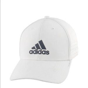 Adidas Men's Gameday II Stretch Fit Hat White S/M